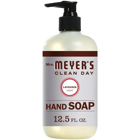 (3 pack) Mrs. Meyer's Liquid Hand Soap, Lavender, 12.5 (France Lavender Liquid)