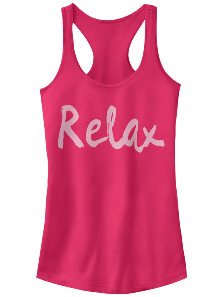 Chin Up Juniors' Relax Racerback Tank Top
