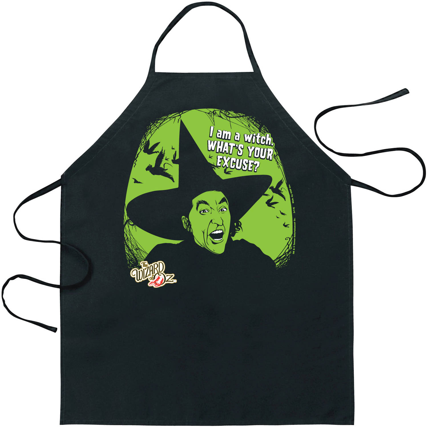 The Wizard of Oz I Am A Witch Apron