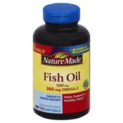 Nature Made Fish Oil, 1200mg, 110 count