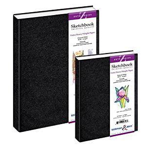 Zeta Hardbound Sketchbook 5.5X8.5