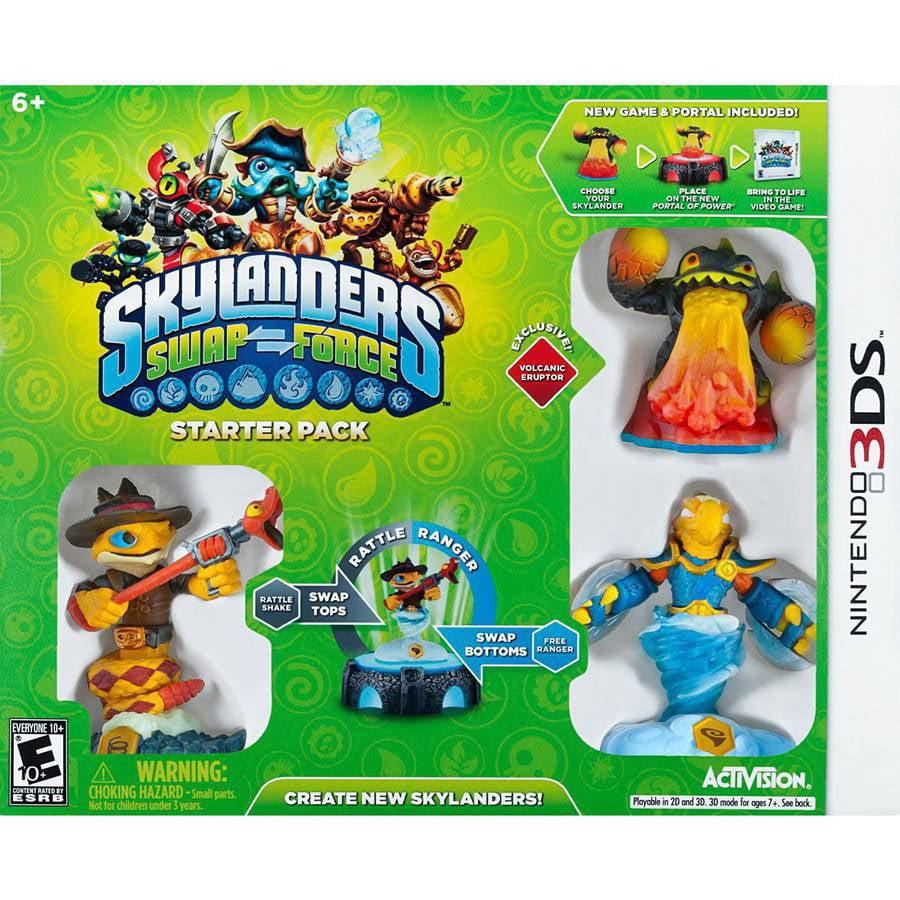 Skylanders Swap Force Starter Pack (Nintendo 3DS) 047875847217