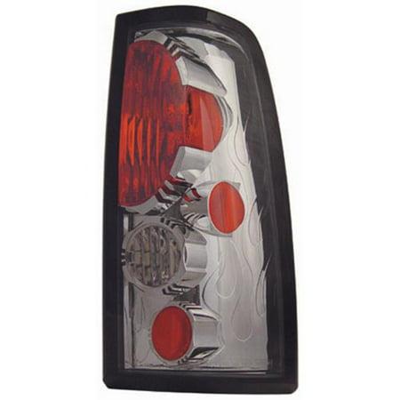 Chevrolet Silverado 2003 - 2006 Tail Lamps, Crystal Eyes Platinum Smoke