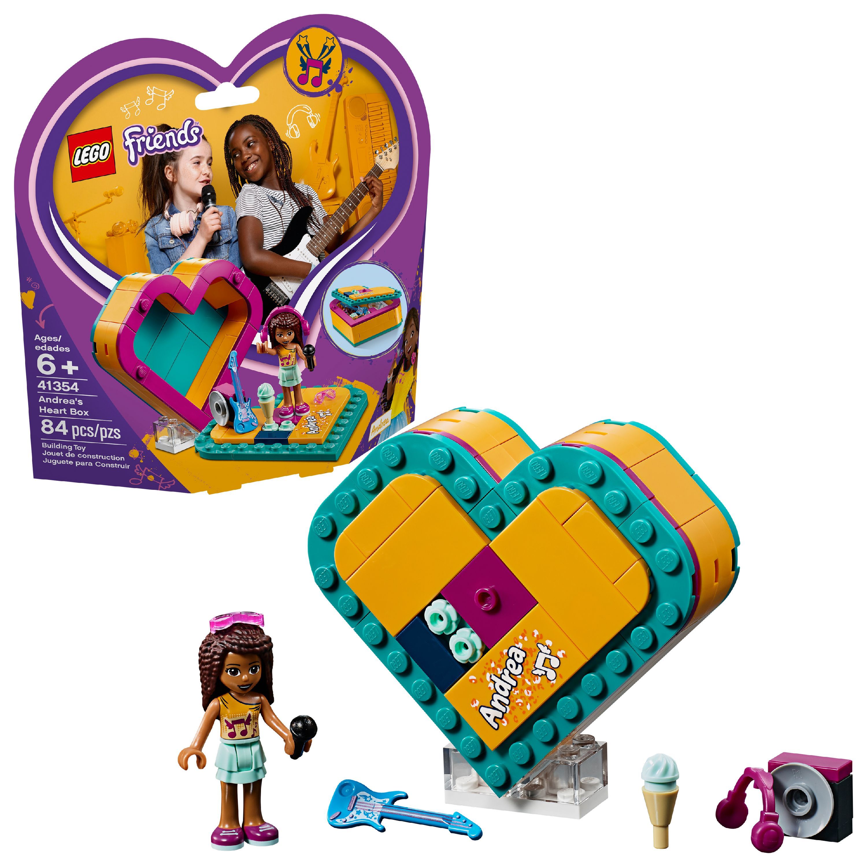 LEGO Friends Andrea's Heart Box 41354 Building Set (84 Pieces)
