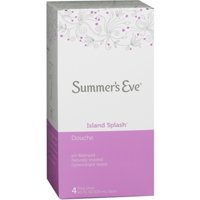 Summer's Eve Douches Island Splash 4 Each (Pack of 3)