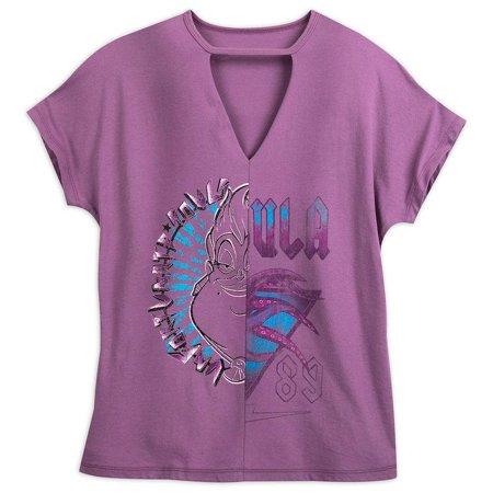Disney Boutique Ursula Women's V-Neck Shirt Medium New with Tag