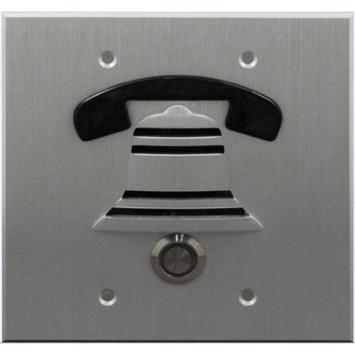 Doorbell Fon Outside Door Surface Mount Pushbutton by Doorbell Fon