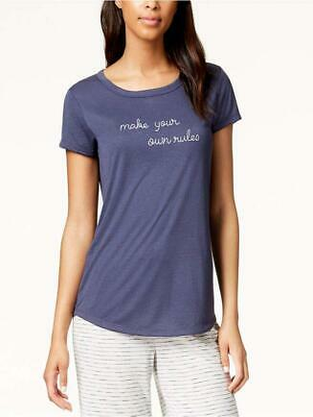 Jenni by Jennifer Moore Hooded Pajama Tunic Sleepwear ~ Pick Your Color /& Size