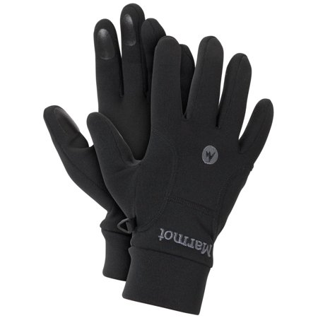 Marmot Men's Power Stretch Glove (Marmot Glide Soft Shell Gloves)