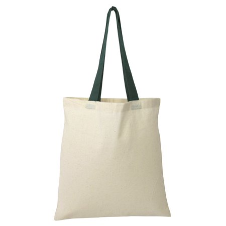 Blank DIY, Arts & Crafts Tote Bags for Decorations (Set of 12) (Forest (Tote Forest Green)