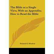The Bible at a Single View