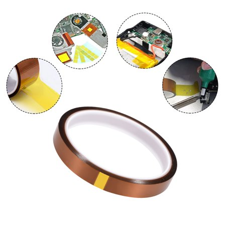 Heat Resistant High Temp Tape Polyimide Film Adhesive Tape 12mm x 27m(88ft) - image 3 of 4