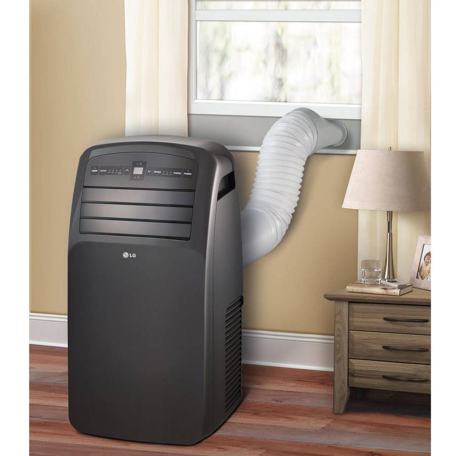 Awesome LG Electronics LP1214 RB 12,000 BTU Portable Air Conditioner, Grey,  Factory Reconditioned   Walmart.com