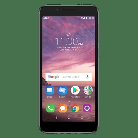 AT&T PREPAID Alcatel idealXTRA 16GB Prepaid Smartphone,