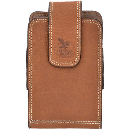 georgia cell phone case leather smartphone swivel light brown gbp136