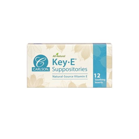 Carlson Laboratories - Key-E Suppositories box Of 12