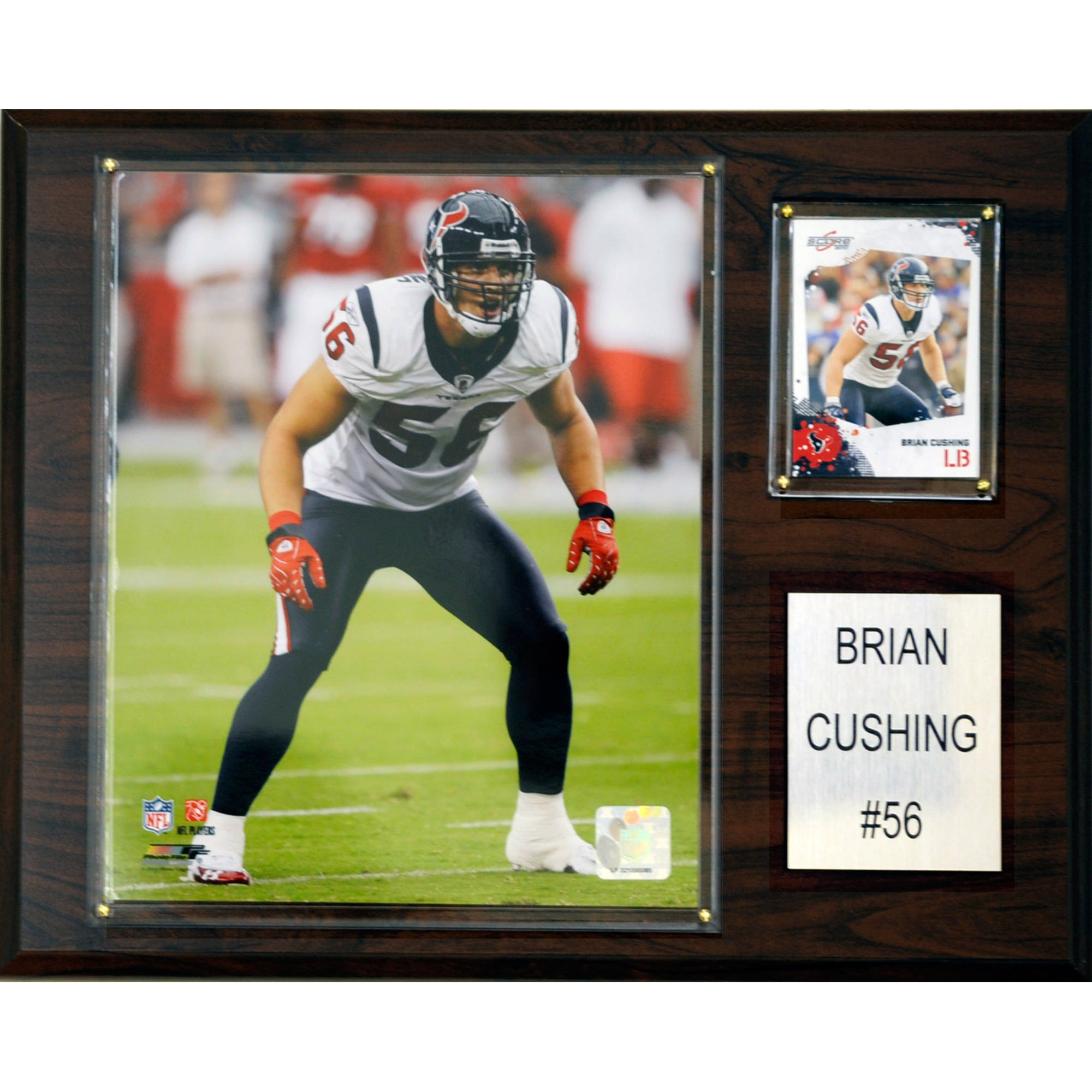 C&I Collectables NFL 12x15 Brian Cushing Houston Texans Player Plaque