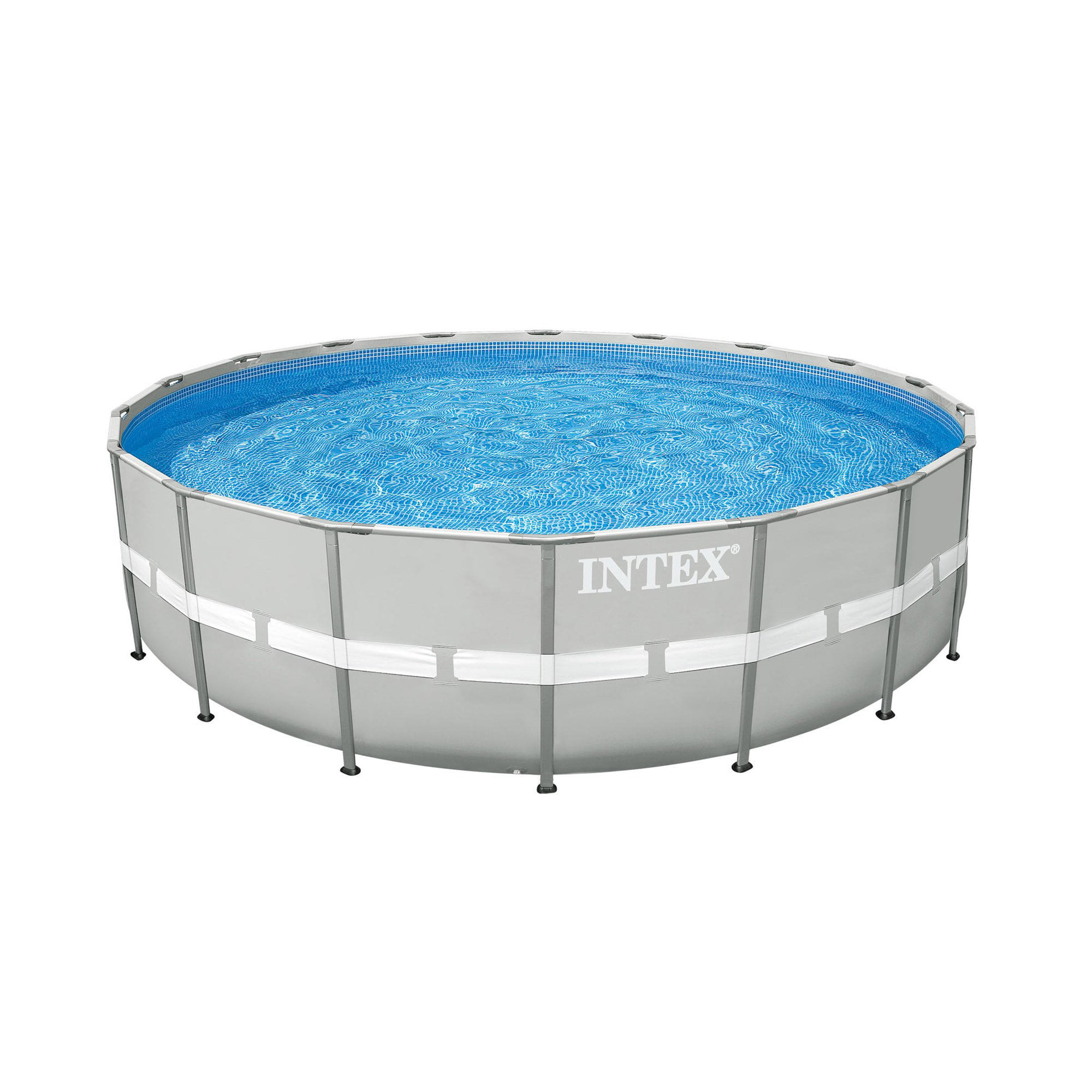 "Intex 24' x 52"" Ultra Frame Steel Frame Above Ground Swimming Pool Set with Pump by Intex"