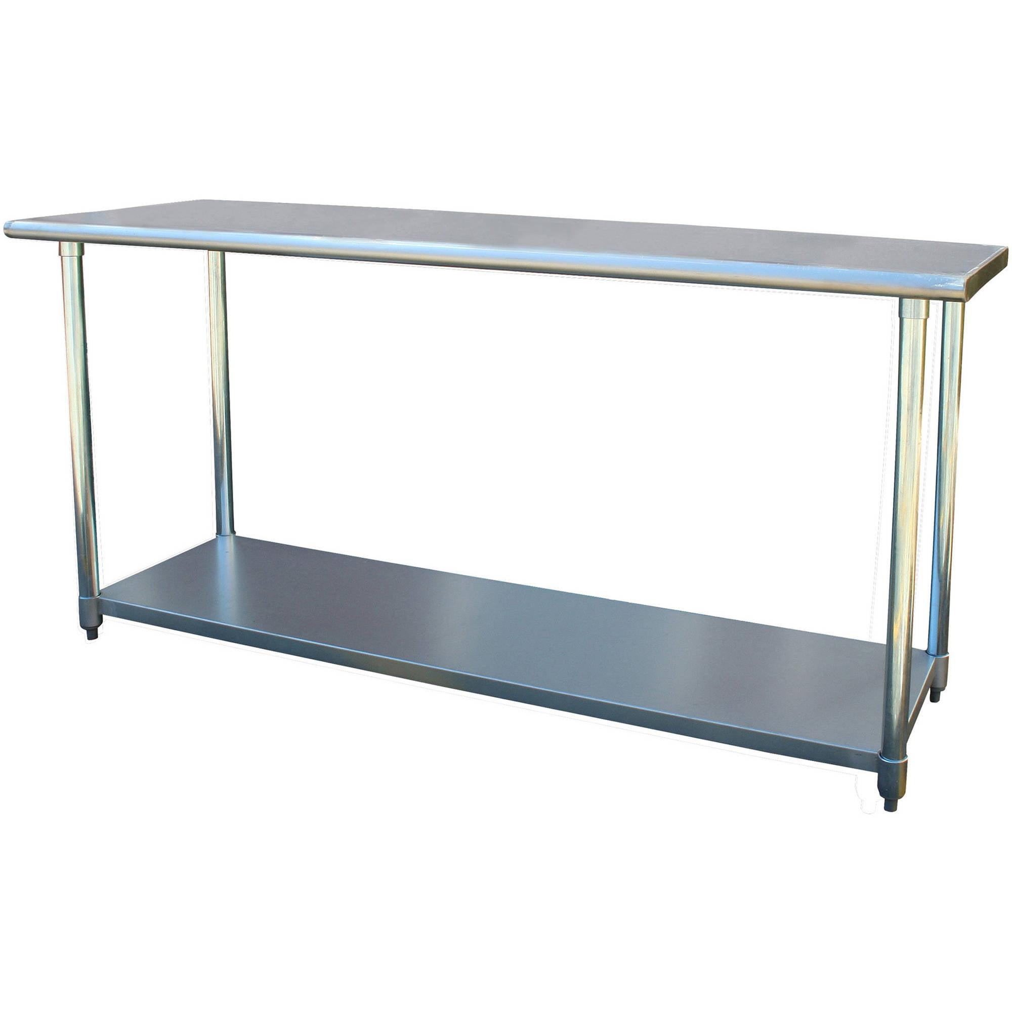 "Sportsman Series Stainless Steel Work Table, 24"" x 72"