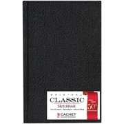 Cachet/Daler-Rowney, Classic Hard-Bound Sketch Book, Vertical Format, 5-1/2in x 8-1/2in