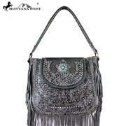 MW197-8291 Montana West Fringe Collection Handbag