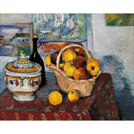 Still Life With Soup Tureen Canvas Art - (24 x 18)
