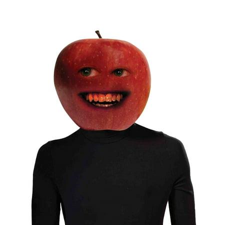 Annoying Orange Midget Apple Overhead Latex Mask Funny Costume Accessory - Annoying Orange Frozen