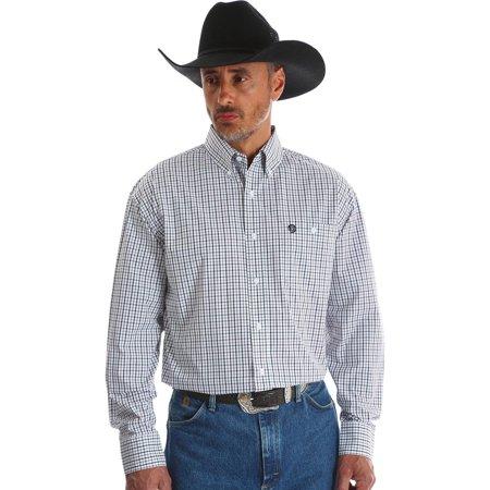 Wrangler Mens George Strait Long Sleeve Shirt   Mgsx407