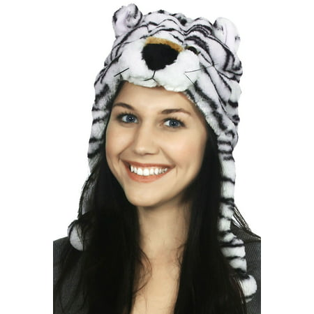 Winter Cute Knit Costume Animal Ski Beanie with Earflaps, Leopard - image 1 of 1