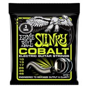 Ernie Ball Regular Slinky Cobalt Electric Guitar Strings, 3 Pack, 10-46