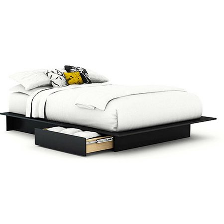 South Shore Soho Full Queen Storage Platform Bed With 2 Drawers  Multiple Finishes