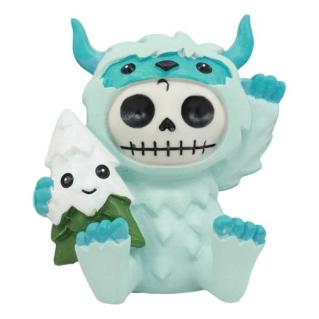 Furry Monster (Ebros Everest Furrybones Yeti The Snowman Figurine Small 3
