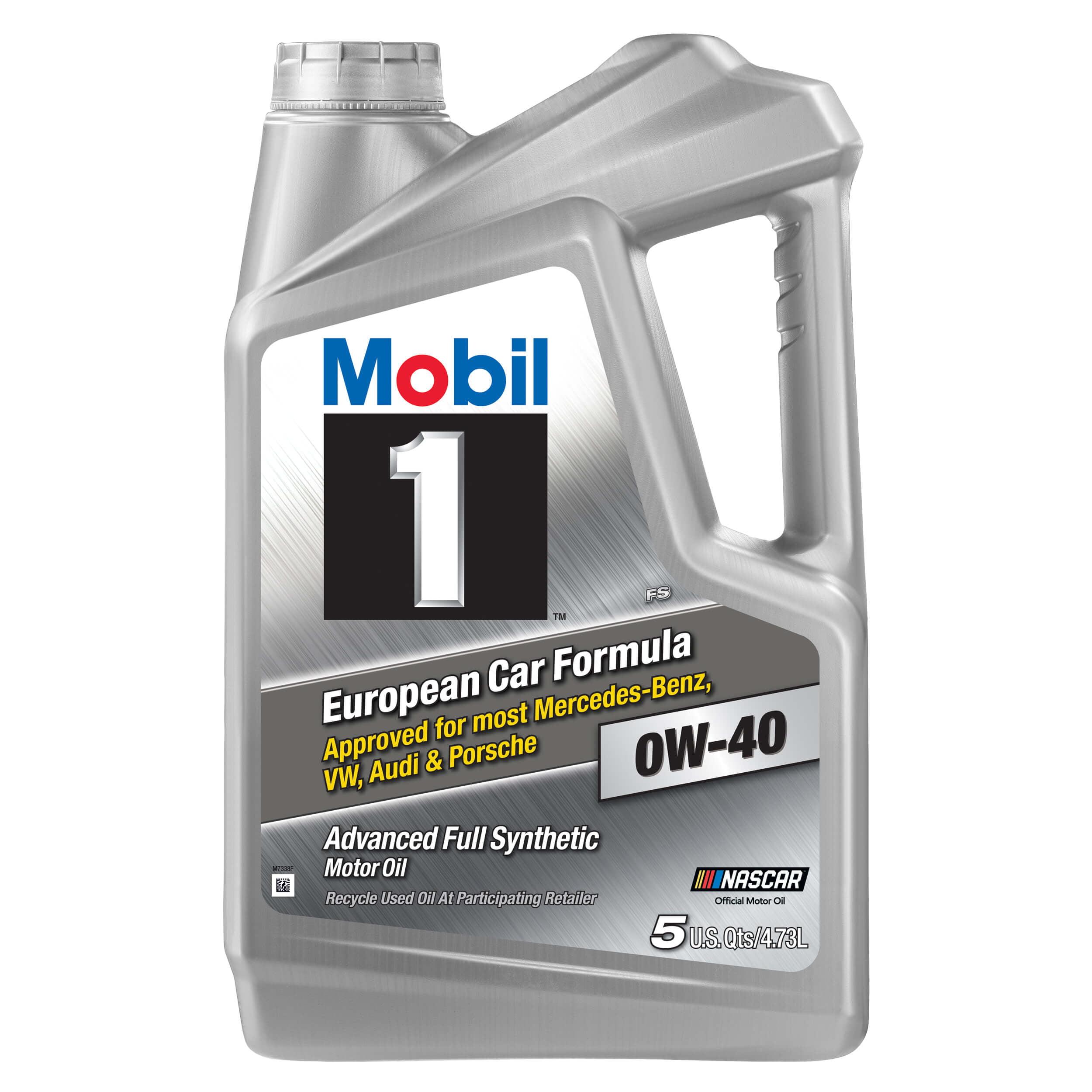 Icke gamla Mobil 1 Advanced Full Synthetic Motor Oil 0W-40, 5 qt. - Walmart.com GF-53