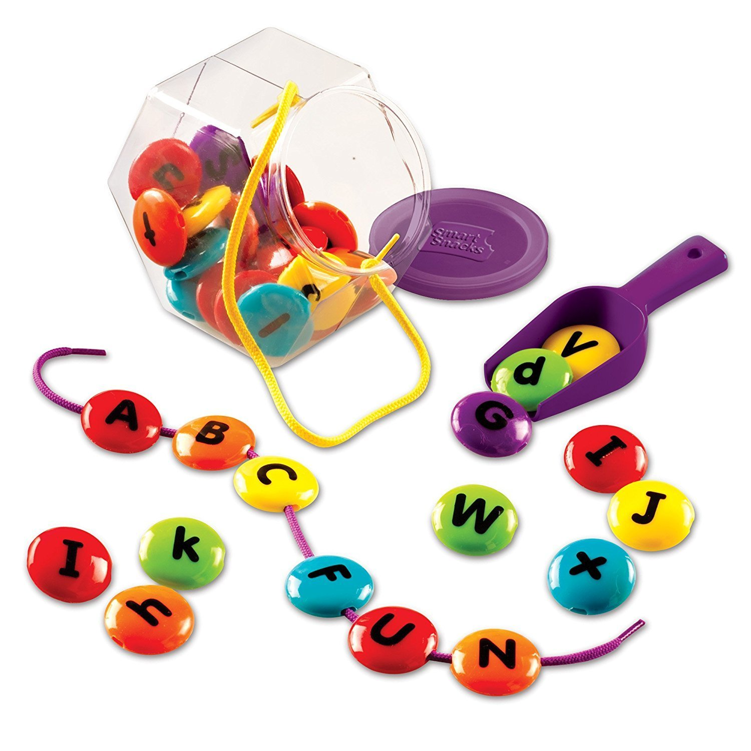 Smart Snacks ABC Lacing Sweets, Fine Motor Toy