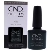 Shellac Gel Nail Polish - Aura by CND for Women - 0.25 oz Nail Polish