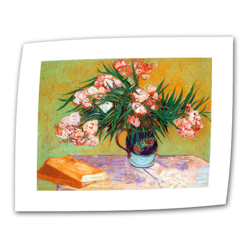 ArtWall ''Oleander'' by Vincent van Gogh Painting Print on Canvas
