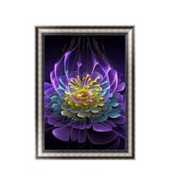 Clearance!Colorful Diamond Painting Rhinestone Embroidery Needlework DIY Stitchwork Drawings Cross-stitch Pictures Office Decor