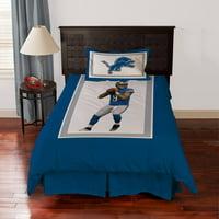 Biggshots Detroit Lions Matthew Stafford Bedding Comforter Set