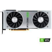 NVIDIA - NVIDIA GeForce RTX 2080 Super 8GB GDDR6 PCI Express 3.0 Graphics Card - Black/Silver