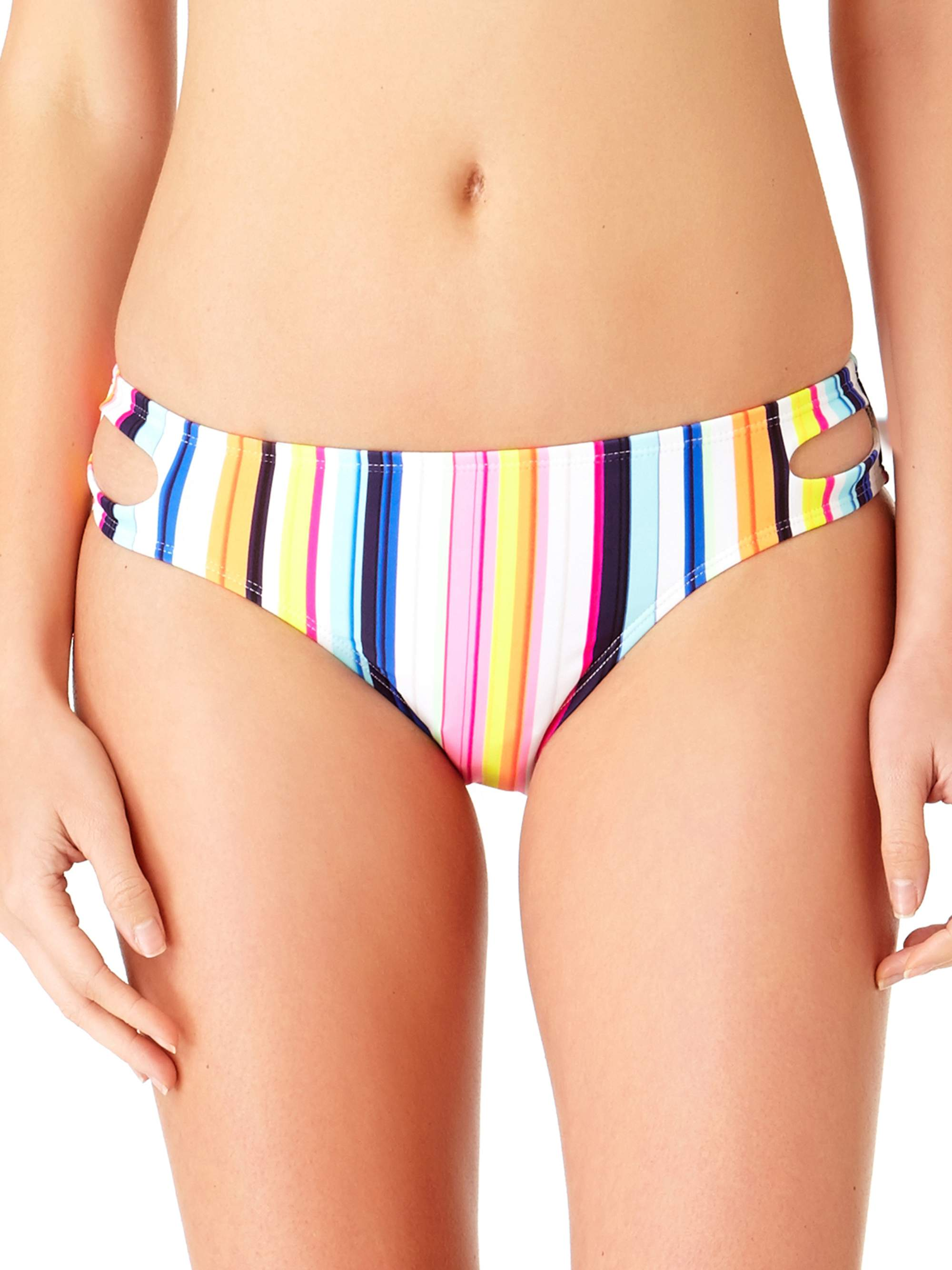 Juniors' Cut-Out Swim Scoop Bottom