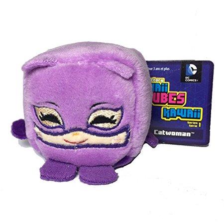 Wish Factory Kawaii Cube DC Comics Catwoman Plush, - Baby Catwoman