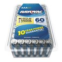60-Pack Rayovac AAA Alkaline Battery