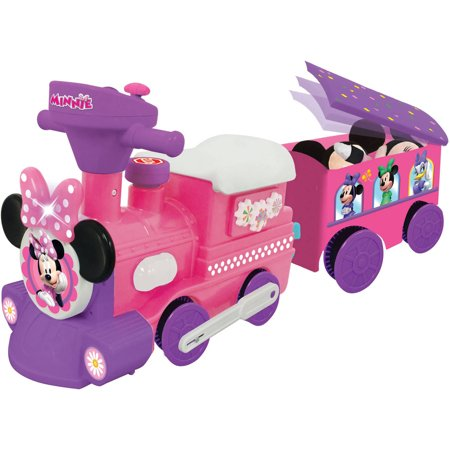 Kiddieland Disney Minnie Mouse Ride-On Motorized Train with Track by