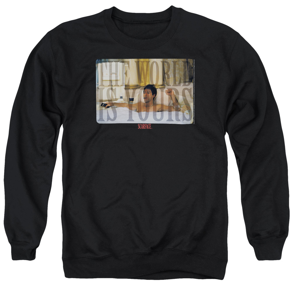 Scarface Bathtub Mens Crewneck Sweatshirt