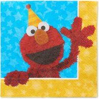 Sesame Street Party Paper Lunch Napkins, 16ct