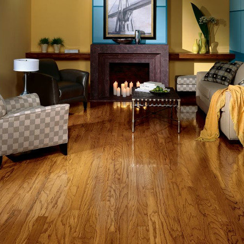 Robbins Ascot Plank 3-1/4'' Solid Oak Hardwood Flooring in Chestnut