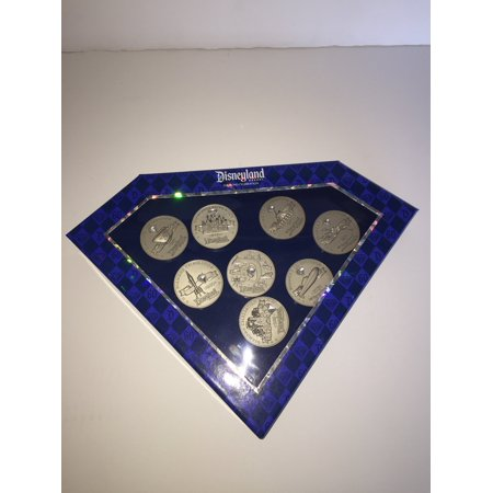 Disneyland 60th Diamond Pin Set of 8 Boxed Limited Edition of 1000 (Disneyland Fashion)