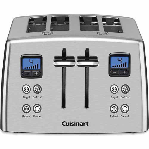 Cuisinart 4-Slice Compact Metal Toaster CPT-435