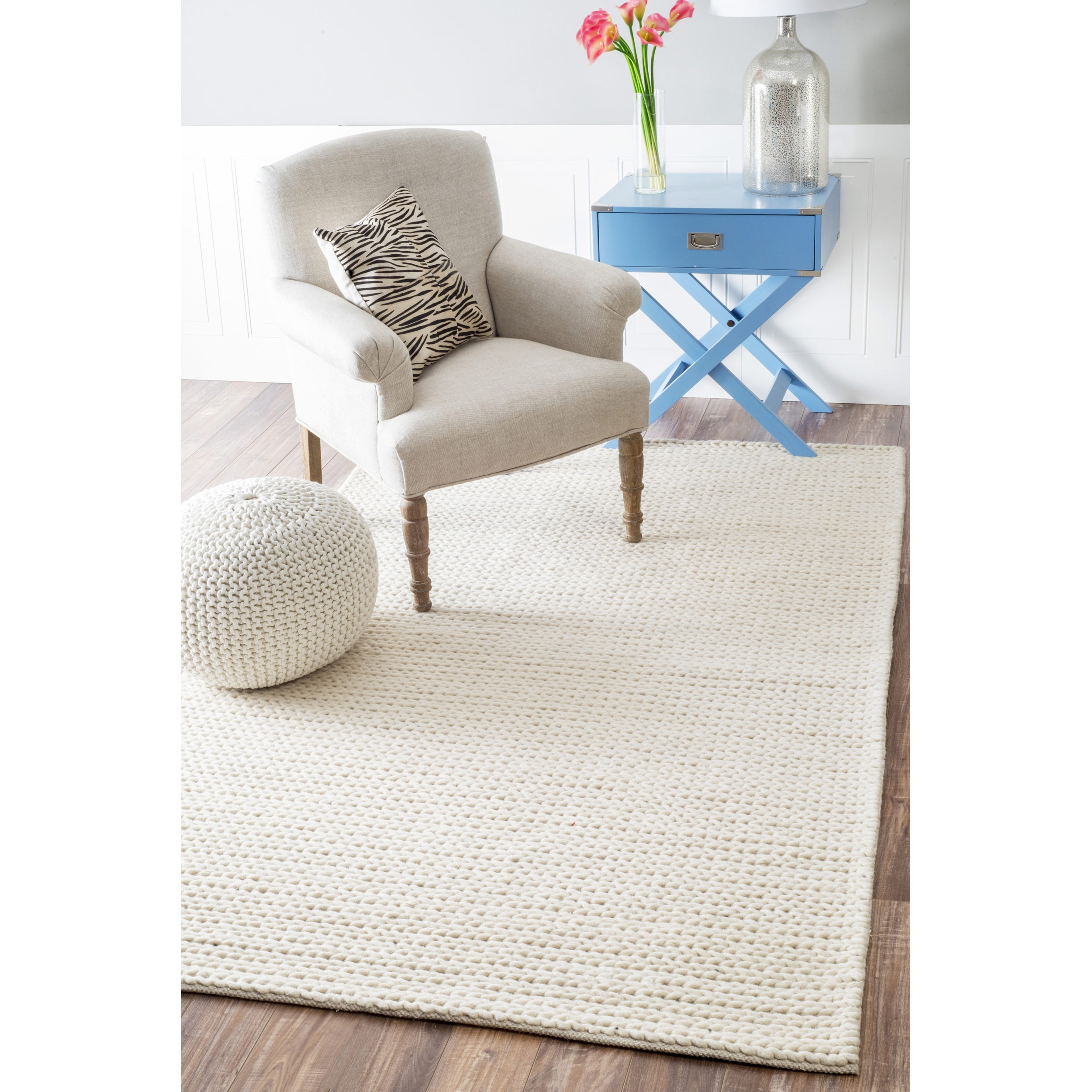 rug stores in nuloom out availability woven hand woolen lt cable of grey stock chunky beyond wool
