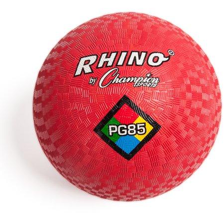 "Champion Sport, CSIPG85RD, s 8-1/2"" Playground Ball, 1 Each, Red"